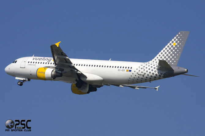 Airbus A320 - MSN 240 - EC-ICR @ Aeroporto di Verona © Piti Spotter Club Verona