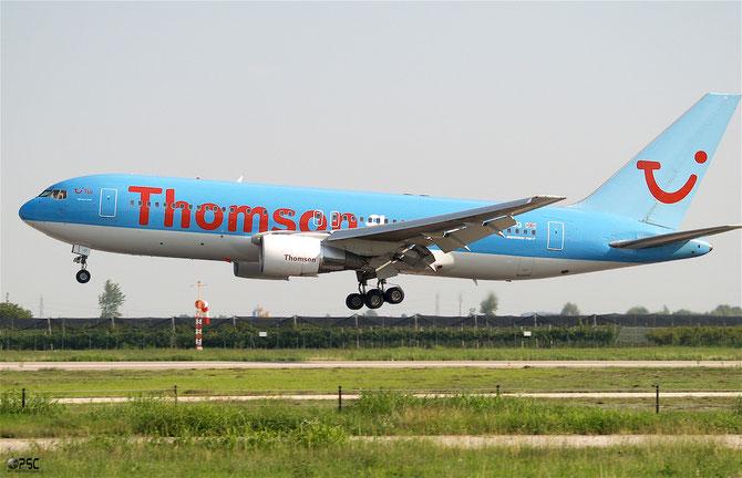Boeing 767 - MSN 24757 - G-BRIG @ Aeroporto di Verona © Piti Spotter Club Verona