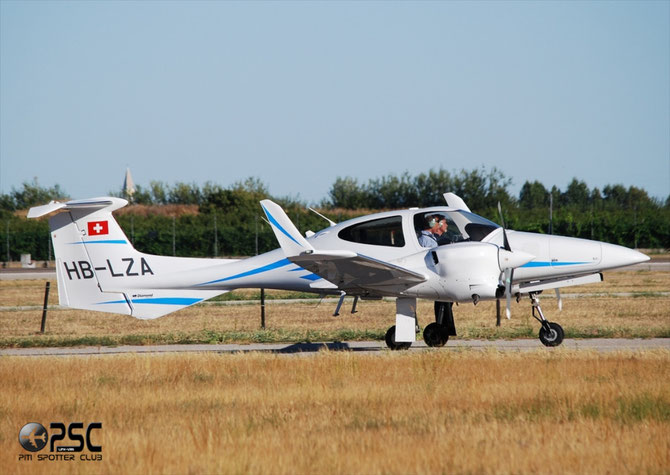 HB-LZA Diamond Aircraft Industries DA-42 NG Twin Turbo DA42 42.N006