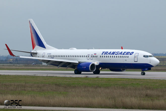 EI-EEA B737-8K5 27989/59 Transaero Airlines @ Aeroporto di Verona © Piti Spotter Club Verona