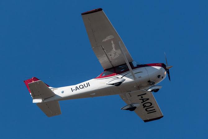 Private Cessna 172 Skyhawk I-AQUI @ Aeroporto di Verona - 2016 © Piti Spotter Club Verona