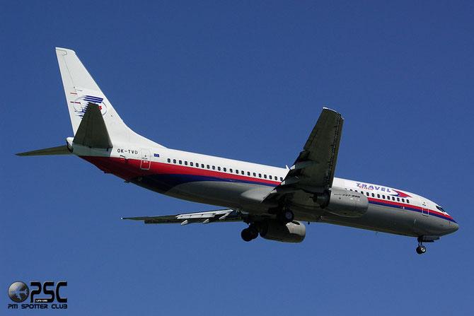 OK-TVD B737-86N 28595/285  Travel Service @ Aeroporto di Verona © Piti Spotter Club Verona
