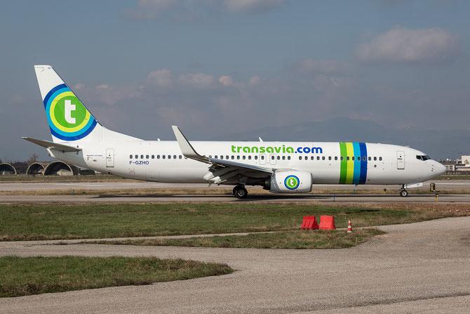 F-GZHO B737-8K2 43880/5270 Transavia France @ Aeroporto di Verona - 2016 © Piti Spotter Club Verona