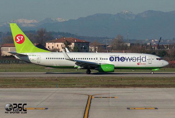 Boeing 737 Next Gen - MSN 37085 - VQ-BKW  @ Aeroporto di Verona © Piti Spotter Club Verona