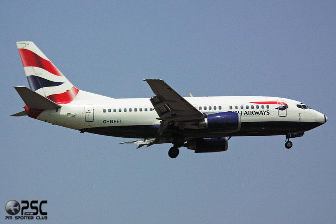 Boeing 737 - MSN 27425 - G-GFFI @ Aeroporto di Verona © Piti Spotter Club Verona