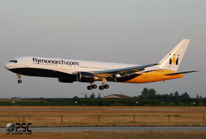 Boeing 767 - MSN 28865 - G-DIMB @ Aeroporto di Verona © Piti Spotter Club Verona