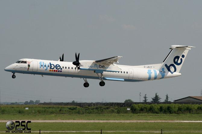 G-JECT DHC-8-402 4144 Flybe - British European @ Aeroporto di Verona © Piti Spotter Club Verona
