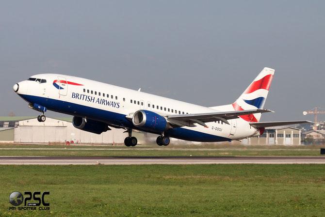 Boeing 737 - MSN 25854 - G-DOCU @ Aeroporto di Verona © Piti Spotter Club Verona