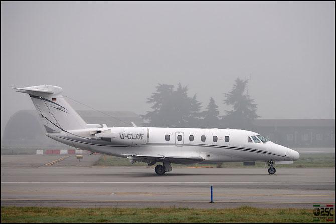 D-CLDF Ce650-VII 650-7085 Euro Flight Service @ Aeroporto di Verona © Piti Spotter Club Verona