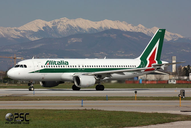 Airbus A320 - MSN 951 - I-BIKA @ Aeroporto di Verona © Piti Spotter Club Verona