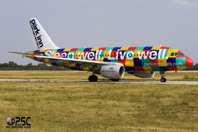 Airbus A319 - MSN 646 - D-AKNF  @ Aeroporto di Verona © Piti Spotter Club Verona