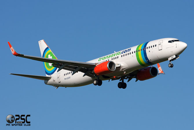 PH-GGW B737-8EH 35831/3165 Transavia Airlines