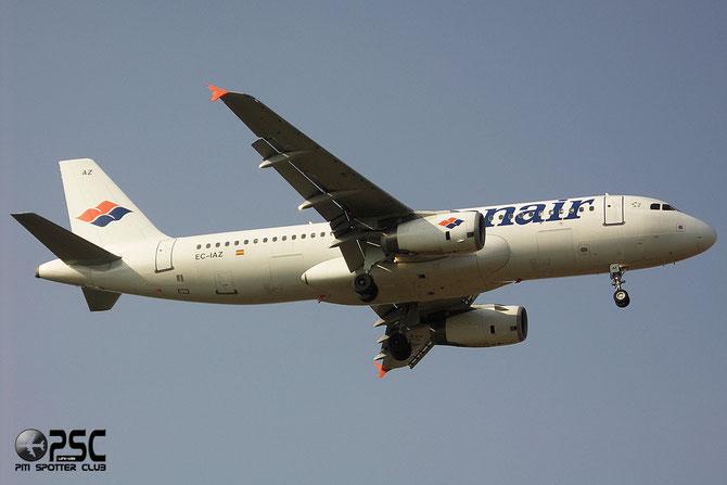 EC-IAZ A320-232 1631 Spanair