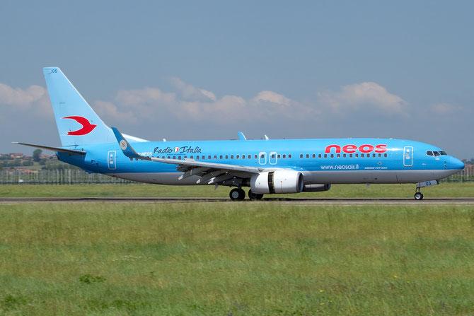 I-NEOS, il primo 737-800 acquistato da Neos e consegnato alla compagnia nel febbraio del 2002