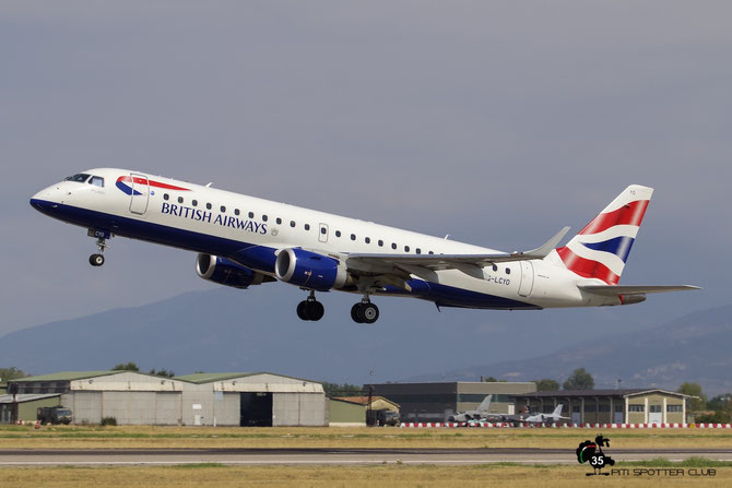 G-LCYO ERJ190SR 19000430 BA CityFlyer @ Aeroporto di Verona © Piti Spotter Club Verona