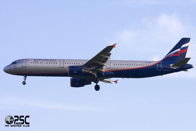 Airbus A321 - MSN 2342 - VP-BWP  @ Aeroporto di Verona © Piti Spotter Club Verona