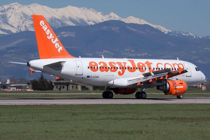 Airbus A319 - MSN 2744 - G-EZAK @ Aeroporto di Verona © Piti Spotter Club Verona