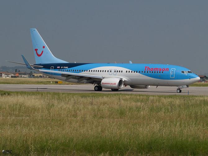 Boeing 737 Next Gen - MSN 37243 - G-TAWL @ Aeroporto di Verona © Piti Spotter Club Verona