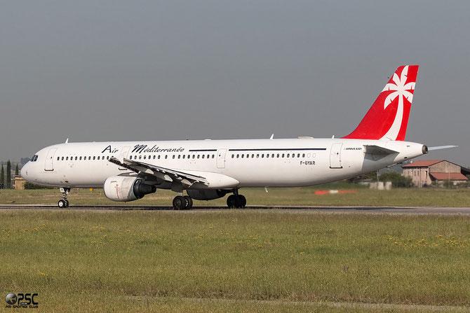 F-GYAR A321-211 891 Air Méditerranée @ Aeroporto di Verona © Piti Spotter Club Verona