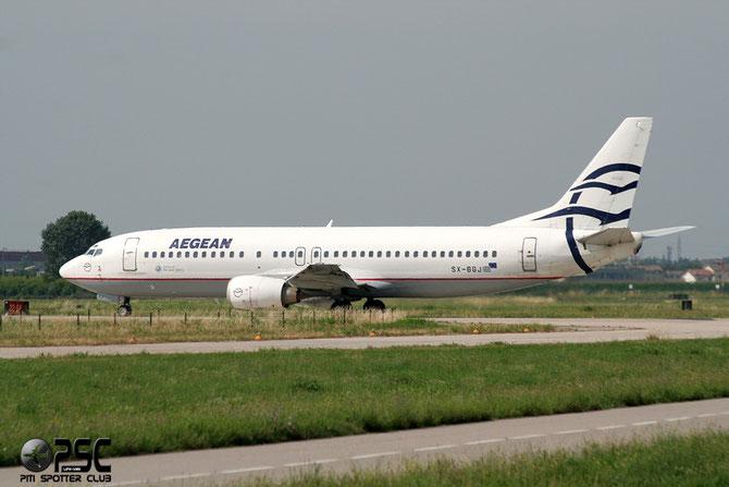 SX-BGJ B737-4S3 25595/2233 Aegean Airlines