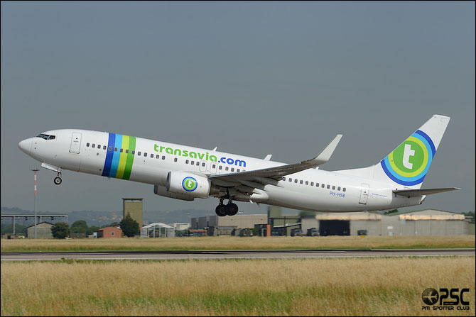 PH-HSB B737-8K2 34172/3242 Transavia Airlines