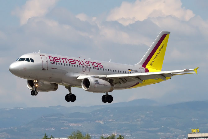 Airbus A319 - MSN 3011 - D-AGWD  @ Aeroporto di Verona © Piti Spotter Club Verona