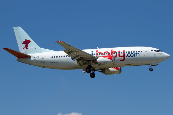 Boeing 737 - MSN 27833 - G-OGBD  @ Aeroporto di Verona © Piti Spotter Club Verona
