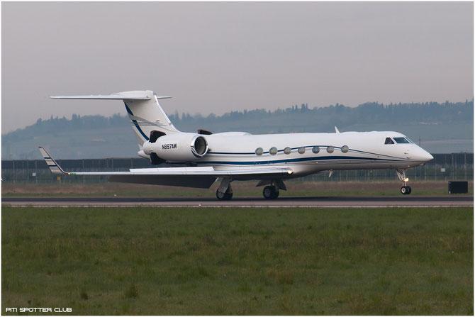 N897AW G550 5063 Audrey Enterprise LLC @ Aeroporto di Verona © Piti Spotter Club Verona