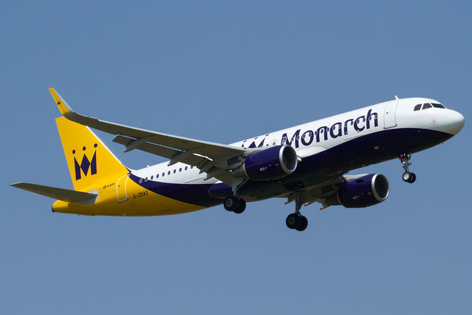 G-ZBAS A320-214 6550 Monarch Airlines @ Aeroporto di Verona © Piti Spotter Club Verona