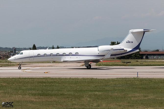 N883A G550 5175 Funair Corp. @ Aeroporto di Verona © Piti Spotter Club Verona