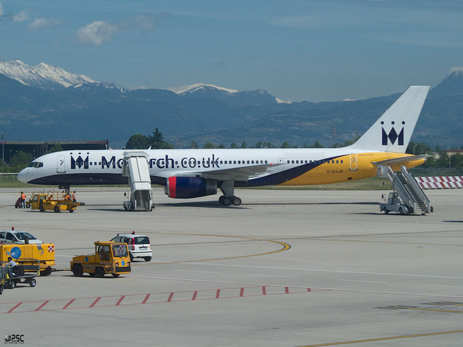 Boeing 757 - MSN 23770 - G-DAJB @ Aeroporto di Verona © Piti Spotter Club Verona