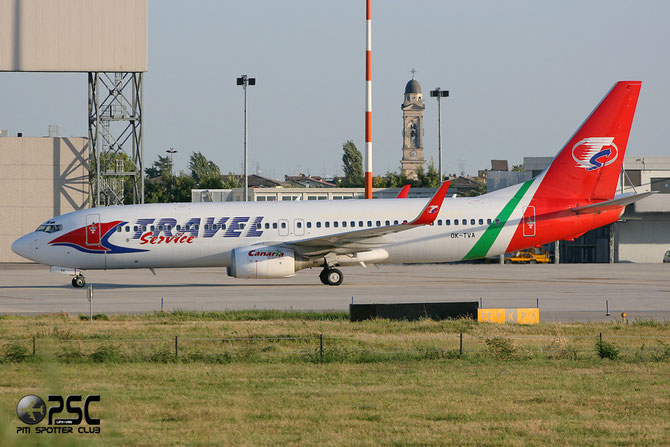 OK-TVA B737-86N 32243/869  Travel Service @ Aeroporto di Verona © Piti Spotter Club Verona