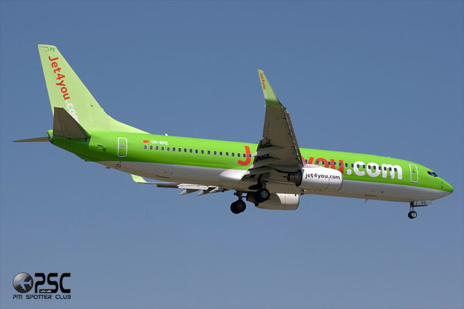CN-RPE B737-8K5 27990/246 Jet4You
