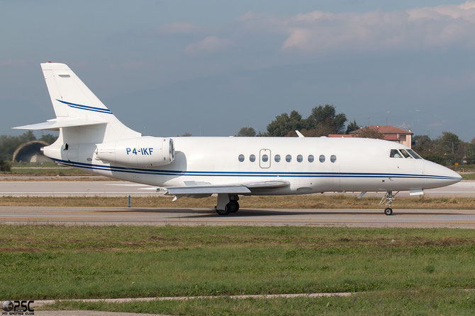 P4-IKF Falcon 2000 227 Ikaros Aviation AVV