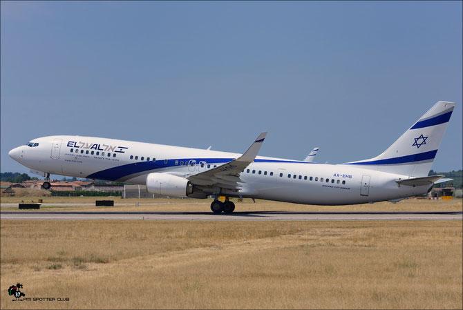 4X-EHB B737-958ER 41553/4697 El Al Israel Airlines @ Aeroporto di Verona © Piti Spotter Club Verona