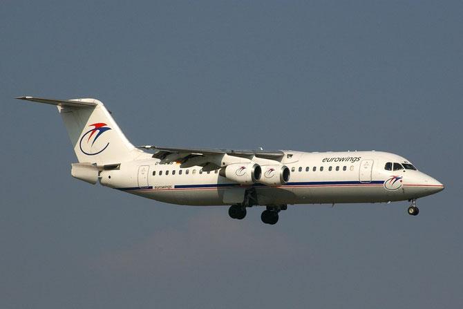 D-AEWB BAe146-300 E3183 Eurowings