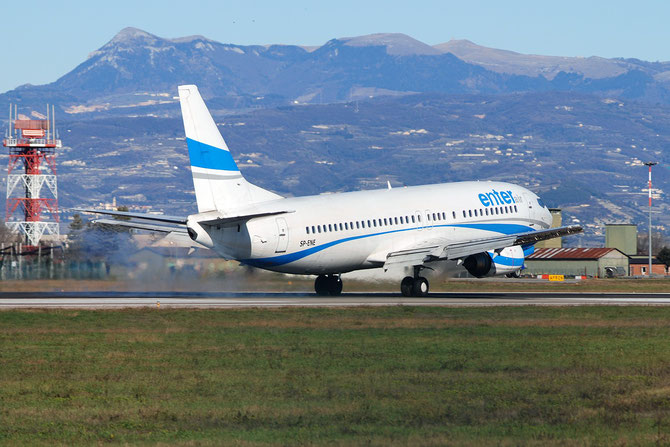 SP-ENE B737-4Q8 25374/2562 Enter Air @ Aeroporto di Verona © Piti Spotter Club Verona