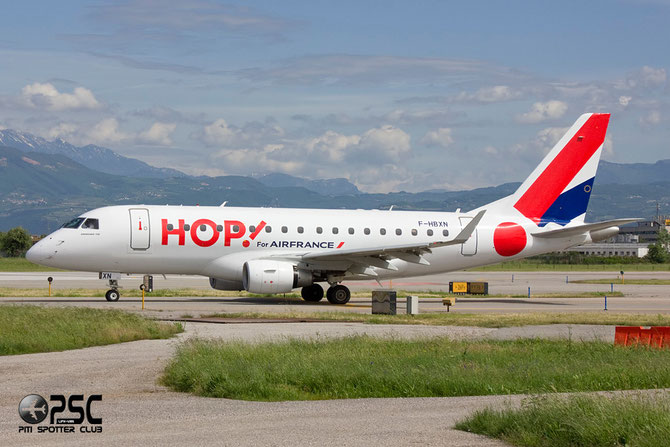 Embraer 170/175 - MSN 11 - F-HBXN (Hop livery) @ Aeroporto di Verona © Piti Spotter Club Verona