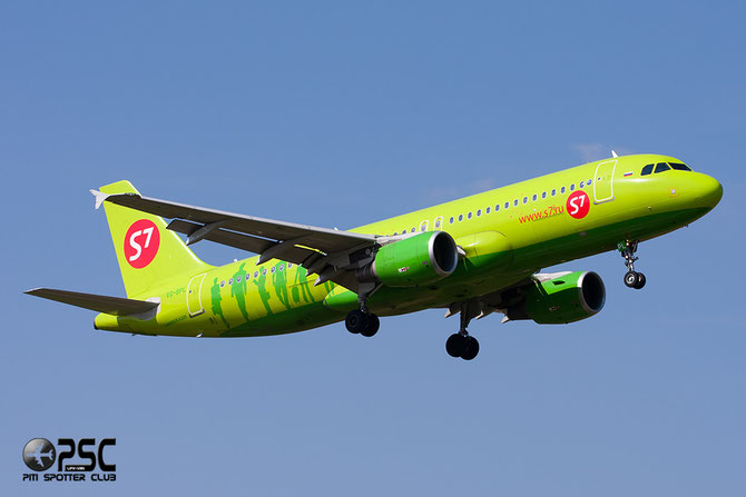 VQ-BPL A320-214 5026 S7 Airlines