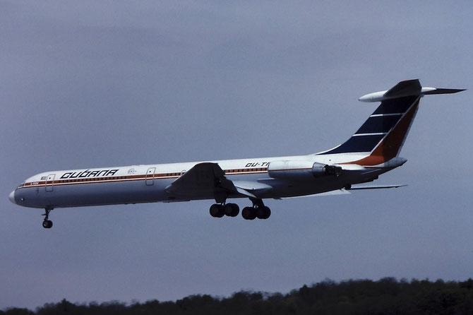 2052436 Il-62M CU-T1282 Cubana