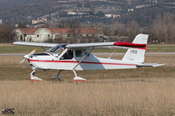 I-9538 - Tecnam P92 Echo, JS & Super - @ Aeroporto Verona Boscomantico © Piti Spotter Club Verona