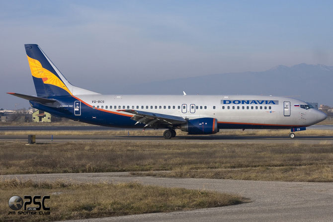 Boeing 737 - MSN 28494 - VQ-BCS @ Aeroporto di Verona © Piti Spotter Club Verona