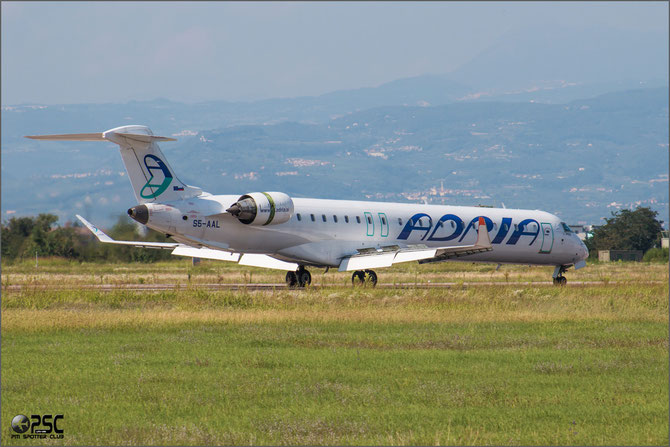 S5-AAL CRJ900ER 15129 Adria Airways
