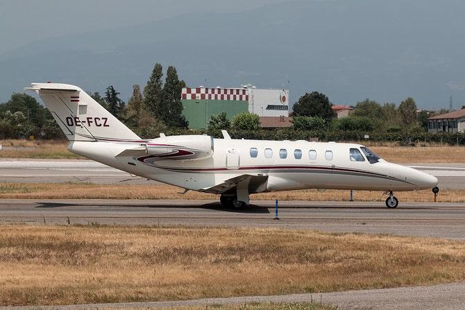 OE-FCZ Ce525A (CJ2+) 525A-0427 Avcon Jet @ Aeroporto di Verona © Piti Spotter Club Verona