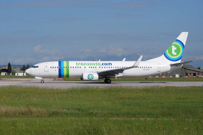 PH-HSA B737-8K2 34171/2950 Transavia Airlines