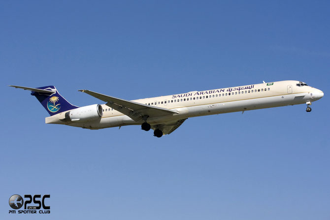 HZ-APB MD-90-30 53492/2205 Saudia - Saudi Arabian Airlines