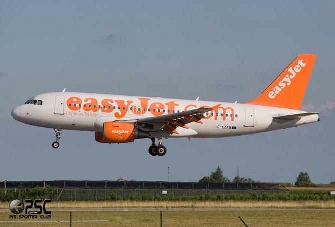 Airbus A319 - MSN 2681 - G-EZAB @ Aeroporto di Verona © Piti Spotter Club Verona