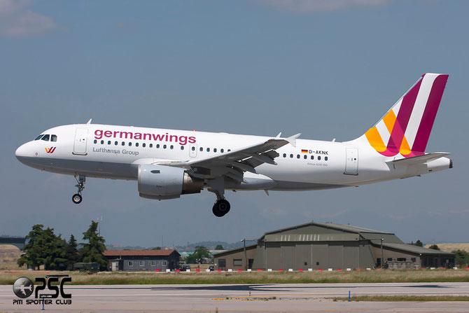 Airbus A319 - MSN 1077 - D-AKNK  @ Aeroporto di Verona © Piti Spotter Club Verona