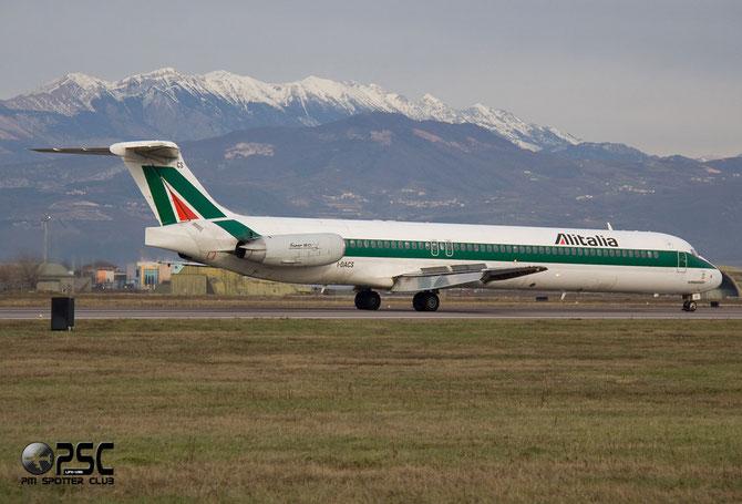 McDonnell Douglas MD-80/90 - MSN 53053 - I-DACS  @ Aeroporto di Verona © Piti Spotter Club Verona