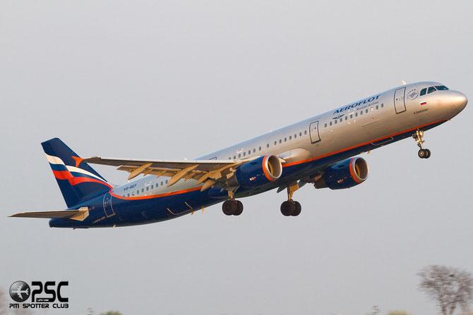 Airbus A321 - MSN 4103 - VQ-BEF  @ Aeroporto di Verona © Piti Spotter Club Verona